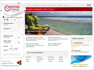 Mayfair Travel eBooking System Design - Implementation